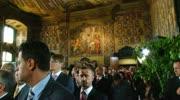 Ortstafelfeier im Wappensaal des Landhauses