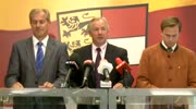 Pressekonferenz anlässlich der außerordentlichen Regierungssitzung