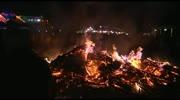 Osterfeuer beim Gasthof Müller in Klagenfurt