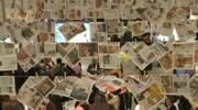 Reinhard Eberhart präsentiert druckfrische Faschingszeitung