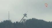 Die ersten Bilder der Sprengung des Aussichtsturms am Pyramidenkogel