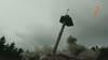 """Sprengung des Aussichtsturms am Pyramidenkogel - Vorort-Kamera """"Ost"""""""