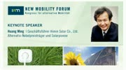 New Mobility Forum 2012 - Keynote Speaker Huang Ming (Englische Version)