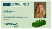 New Mobility Forum 2012 - Cate Smithson (Englische Version)