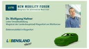New Mobility Forum 2012 - Dr. Wolfgang Hafner - (Deutsche Version)