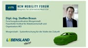 New Mobility Forum 2012 - Dipl.-Ing. Steffen Braun (Deutsche Version)