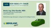 New Mobility Forum 2012 - Bmstr. Ing Otto Handle, MBA