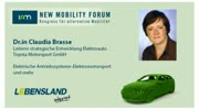 New Mobility Forum 2012 - Dr.in Claudia Brasse (Deutsche Version)