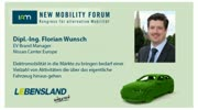 New Mobility Forum 2012 - Dipl.-Ing. Florian Wunsch, MBA (Englische Version)