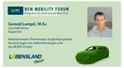 New Mobility Forum 2012 - Gorazd Lampic, M.Sc. (Englische Version)
