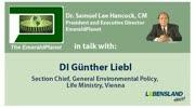 """""""The Emerald Planet"""": Dr. Samuel Lee Hancock im Gespräch mit DI Günther Liebl ..."""