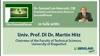"""The Emerald Planet"": Dr. Samuel Lee Hancock im Gespräch mit Univ. Prof. DI Dr. Martin Hitz ..."