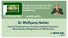 """""""The Emerald Planet"""": Dr. Samuel Lee Hancock im Gespräch mit Dr. Wolfgang Hafner ..."""