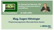 """""""The Emerald Planet"""": Dr. Samuel Lee Hancock im Gespräch mit Mag. Eugen Hötzinger ..."""
