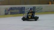 Kartfahren in der Eishalle in Klagenfurt
