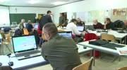 Katastrophenschutzübung bei der Hauptfeuerwehrwache Villach