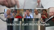 """""""Einkochen statt Wahlkämpfen"""" mit Gerhard Köfer"""