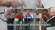 """""""Einkochen statt Wahlkämpfen"""" mit Rolf Holub"""