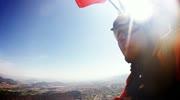 Unser Kameramann traut sich: Tandemsprung über dem Klagenfurter Strandbad