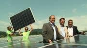 Photovoltaik-Kraftwerk auf der ehemaligen Mülldeponie in St. Veit an der Glan