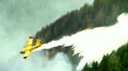 Verheerende Waldbrände wüten im Kanaltal