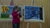 Bilderausstellung von Kindern in Launsdorf
