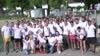 Die Austrian Anadi Bank zeigt beim Company Triathlon auf