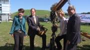 Spatenstich für Infineon-Erweiterung in Villach